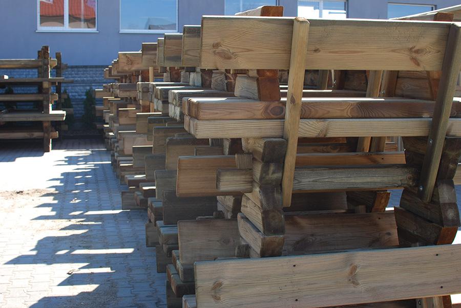 ławki ogrodowe -drewtrans